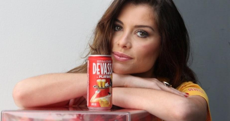 Alinne é a grande aposta da cervejaria para o Carnaval 2013