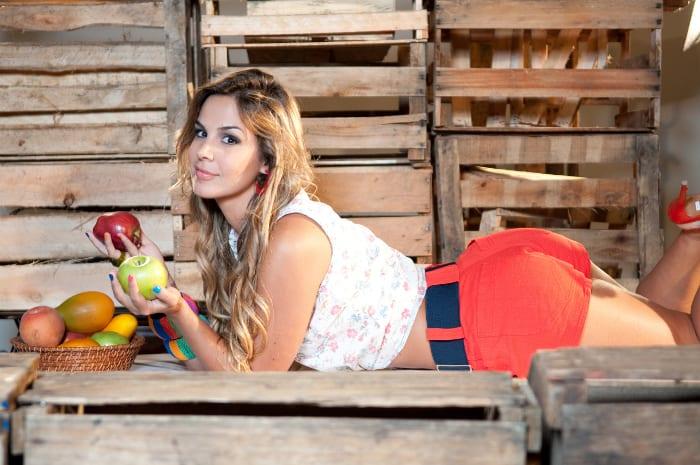 Robertha será 'mulher-fruta'