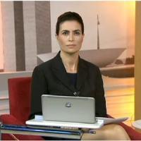 Giuliana Morrone comete gafe no Bom Dia Brasil