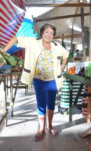 "Ângela Leal, a protagonista de ""Dona Xepa"""