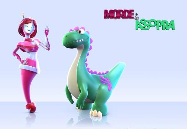 """""""Dinosaurios & Robots"""" é o nome da versão hispânica"""