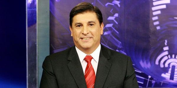 O jornalista Carlos Nascimento