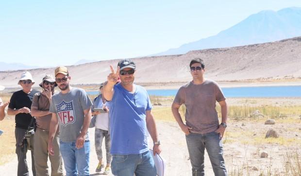 Alexandre Avancini lidera filmagens de folhetim bíblico no Chile