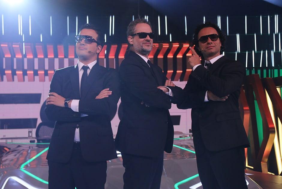 """Novo trio do """"CQC"""""""