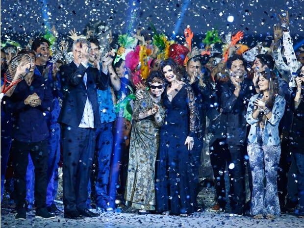 Festa da Globo foi marcada pela animação