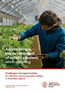 Accelerating the development of agtech solutions worth adopting [Report]