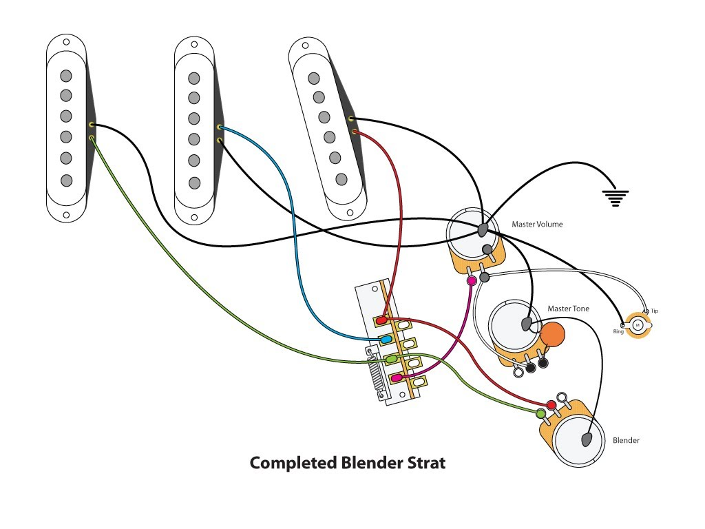 fender vintage noiseless pickups wiring diagram fender blender strat mod wiring schematic on fender vintage noiseless pickups wiring diagram