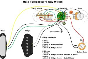 Baja Telecaster 4 way Switch Mod