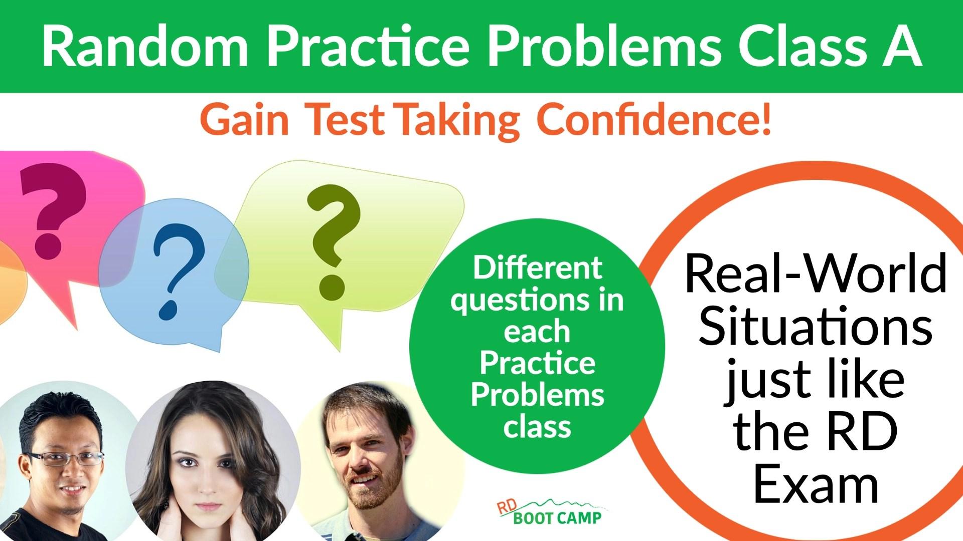 Random Practice Problems Class header