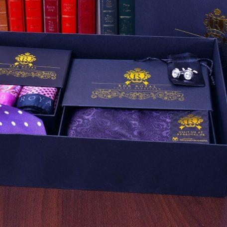 Fialový Hodvábny darčekový Grand Royal