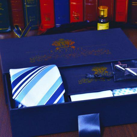 elegantný pánsky luxusný hodvábny darčekový set
