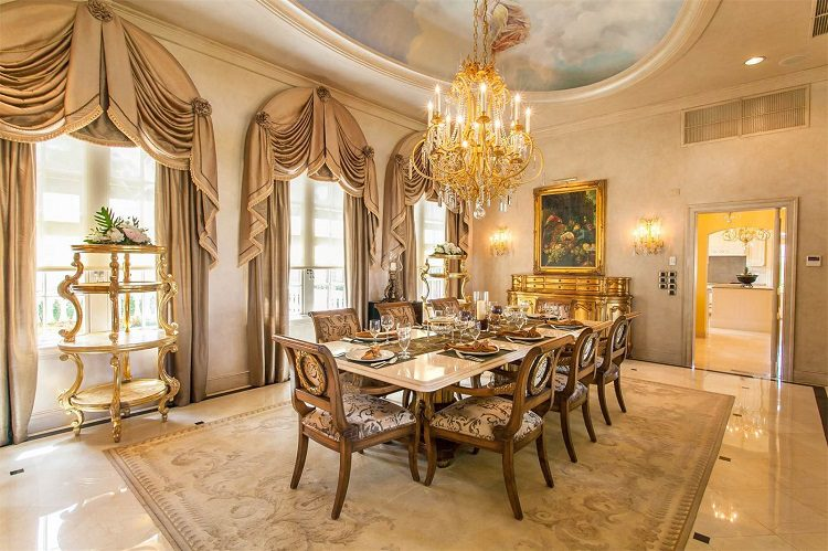 A dining room fit for a president