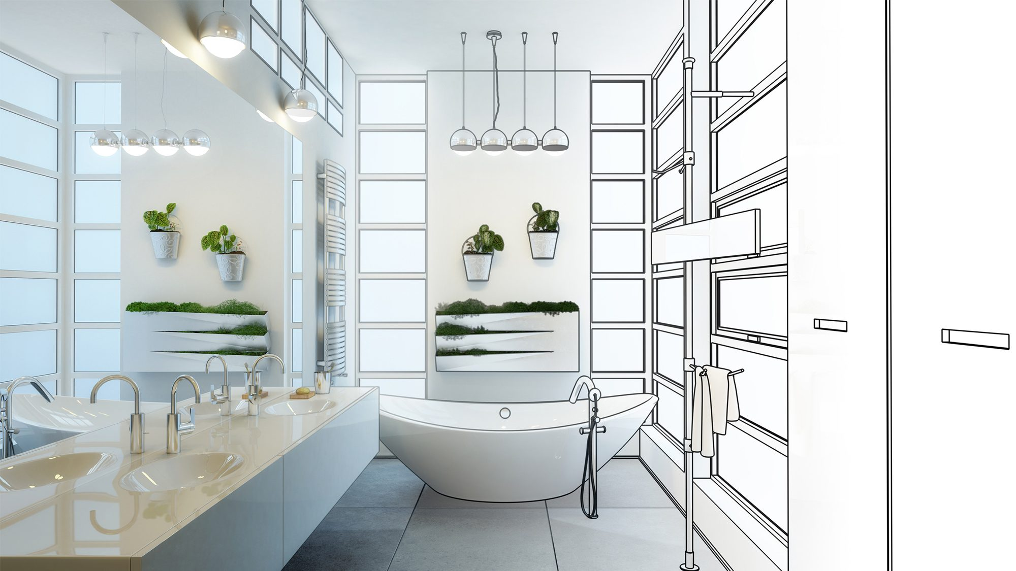 5 Beautiful Bathroom Design Layouts Which One Is Right For