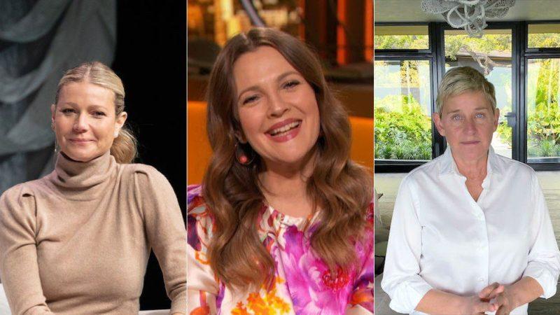 Gwyneth Paltrow, Drew Barrymore, Ellen DeGeneres