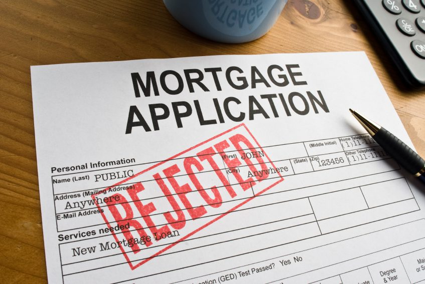 Image result for denied mortgage