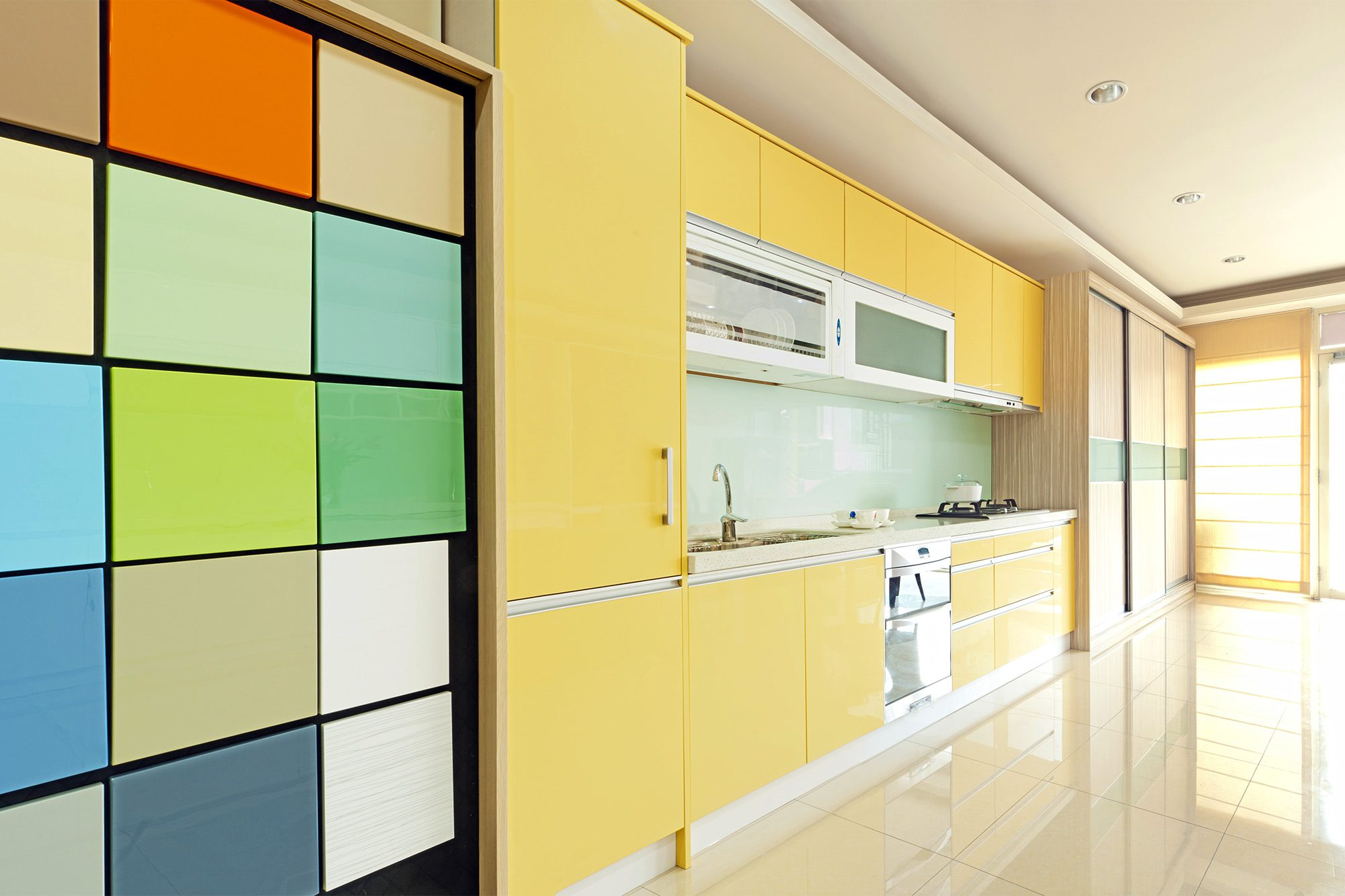 Let S Put Some Color Back In The Kitchen Propertydotgo