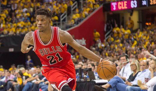 Jimmy Butler #21 of the Chicago Bulls