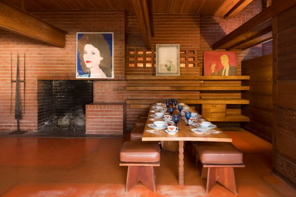 Historic Usonian Design Going Up for Auction in Los