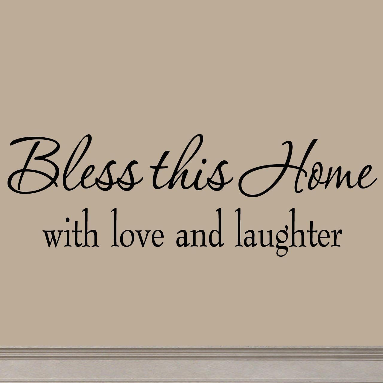 bless this home inspirational sign
