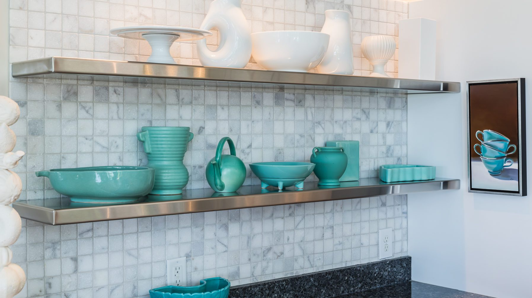 Line up holes with grout lines to prevent cracks in tile