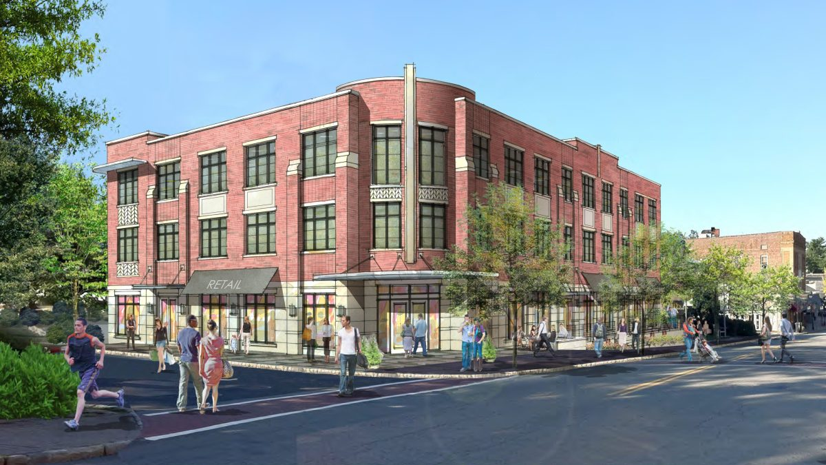 The Clarus building, in Maplewood, NJ, has applied for the wellness designation.