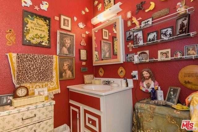 No surface of Super groupie Pamela Des Barres' home is left un-decorated