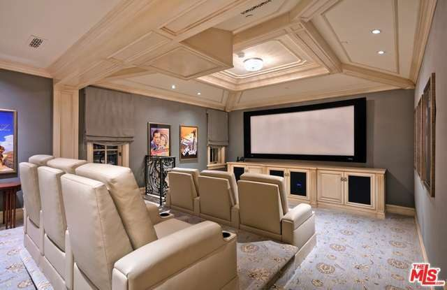 One of two screening rooms