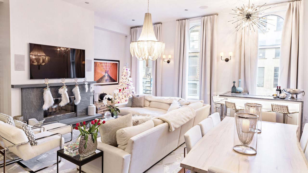The Soho loft of Bethenny Frankel, a veteran of 'The Real Housewives of New York City' and founder of Skinnygirl.