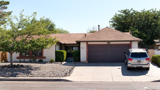 Walter White's house from Breaking Bad
