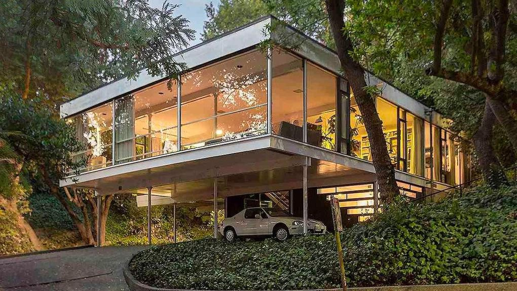 $1.8M Mid-Century Modern Glass House in Berkeley Is a Must ... on Modern Glass Houses  id=23881