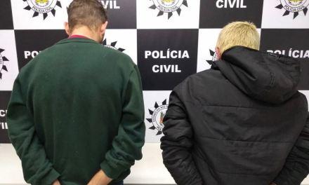 Polícia Civil prende dois suspeitos de Cárcere Privado em Sapiranga