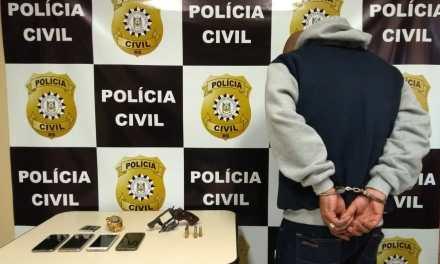 Polícia prende suspeito de violência doméstica Região Metropolitana