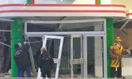 Grupo explode loja de conveniências em tentativa de furto em São Sebastião do Caí