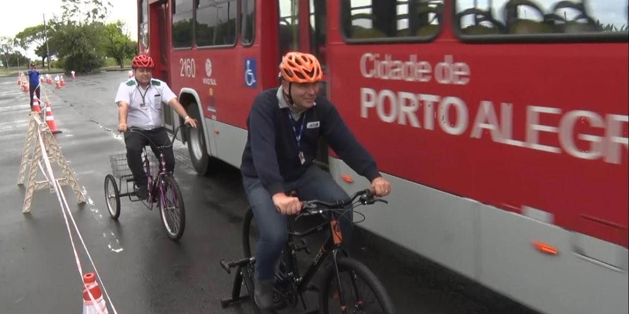 Circuito Urbano da EPTC apresenta educação no trânsito de forma interativa em Porto Alegre