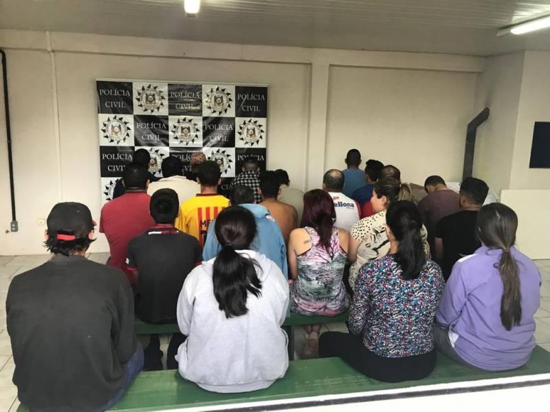 Operação The Hands prende 20 pessoas e faz apreensões em municípios do Rio Grande do Sul