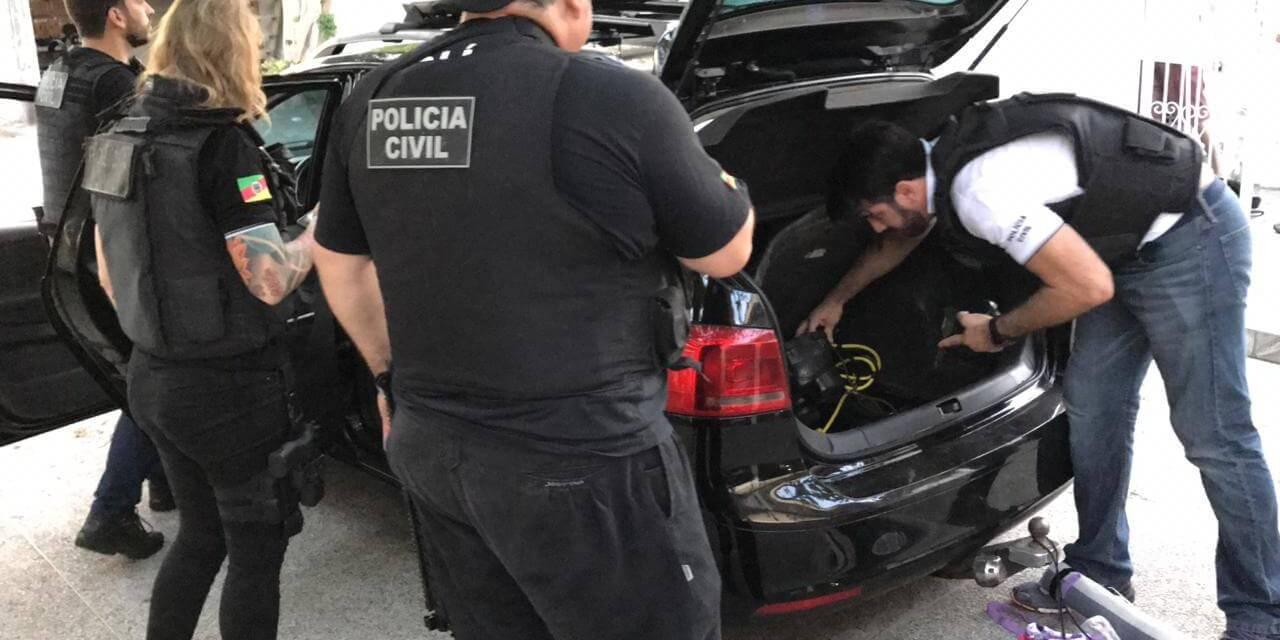 Quadrilha roubava carros sob encomenda do PCC