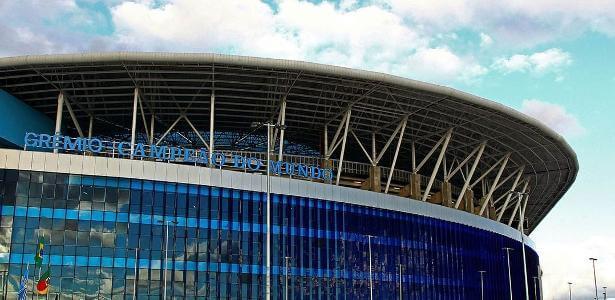 Arena do Grêmio receberá cinco jogos da Copa América