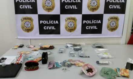 Polícia Civil prende 17 pessoas por tráfico