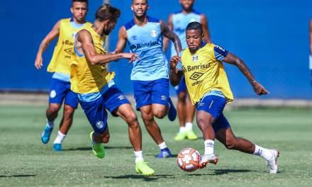 Renato fará duas mudanças no time contra o Aimoré