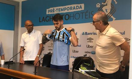 Vizeu revela o que pesou na vinda para o Grêmio
