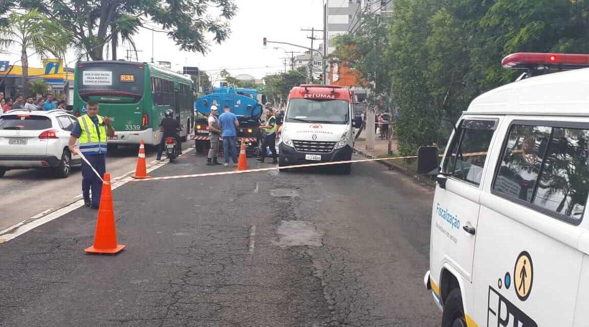Motociclista morre em acidente em Porto Alegre