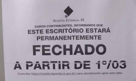Unidade da Receita Estadual em Guaíba será fechada na próxima semana
