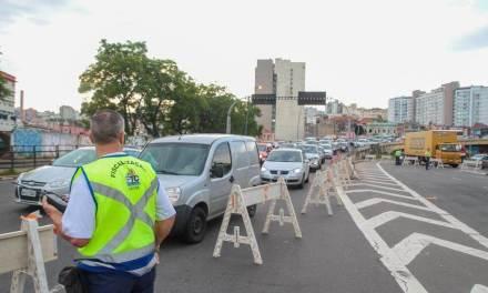 Atenção para as mudanças no trânsito neste fim de semana em Porto Alegre