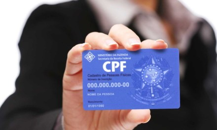 Órgãos federais aceitam CPF como documento de identificação
