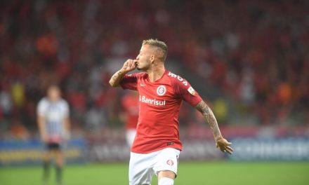 Nico López corre risco de desfalcar o Inter no Gre-Nal
