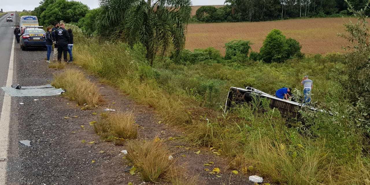 Quatro pessoas morrem em acidentes de trânsito nesta madrugada em estradas gaúchas