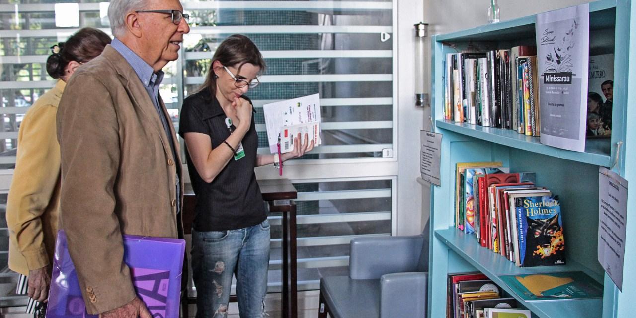 Biblioteca da Smed promove primeira ação do Livro Andarilho