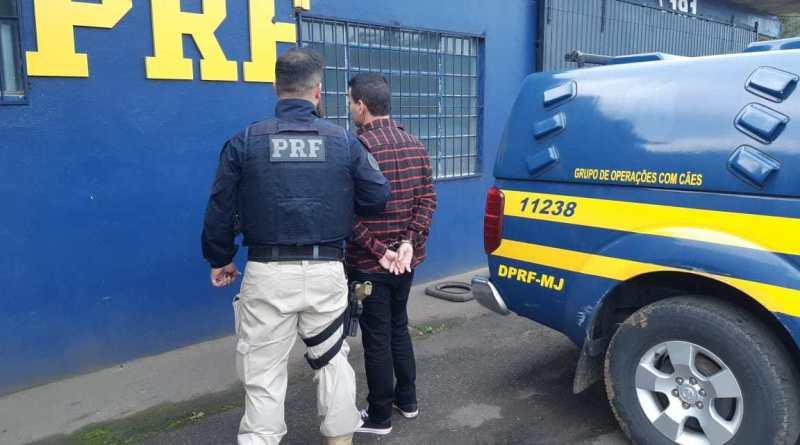 PRF prende foragido durante ação de policiamento da Copa América