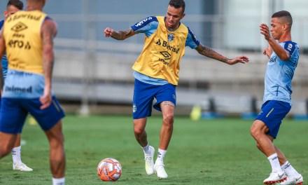 Grêmio tem jogo-treino para continuar teste de Luan