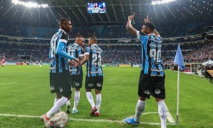 Com gols de André e Jean Pyerre, Grêmio abre vantagem na Copa do Brasil